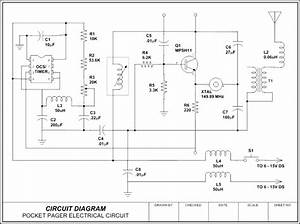 Circuit Diagram - Pocket Pager Template