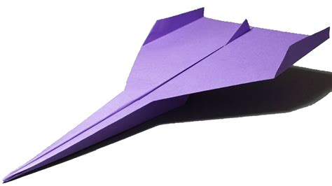 How To Make A (perfect) Paper Airplane That Flies Far