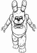 Freddy Coloring Pages Cartoon sketch template