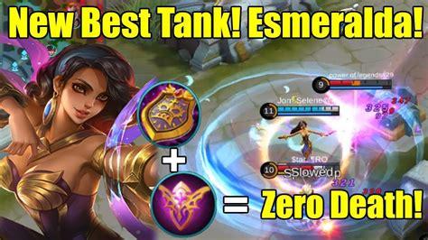 New Best Tank! Esmeralda Tank Build