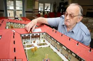 blueprints to build a house pensioner brian cleaver spends four years building