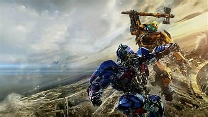 Prime Optimus Transformers Knight Last Bumblebbe 1080p