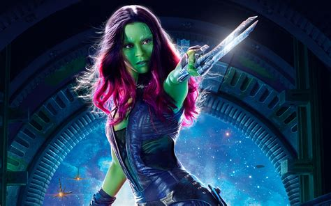 Gamora Guardians of the Galaxy Vol 2 4K HD Wallpapers