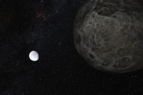 First Light Technologies by Faraway Eris Is Pluto S Twin Eso