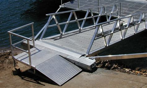 How To Build A Boat Gangway by Steel Pontoon And Gangways Incore