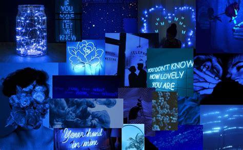 blue wallpaper pc in 2020 aesthetic desktop wallpaper