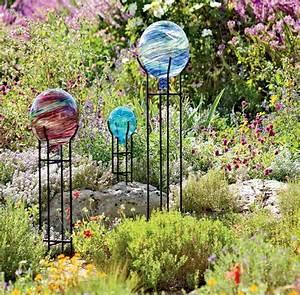 Glaskunst Für Den Garten : rosenkugel als gartendeko freshouse ~ Watch28wear.com Haus und Dekorationen