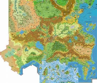 Map Known Trail Maps Fantasy Un Hex