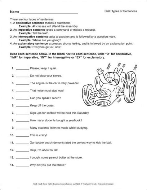 6th grade reading 6th grade basic skills reading