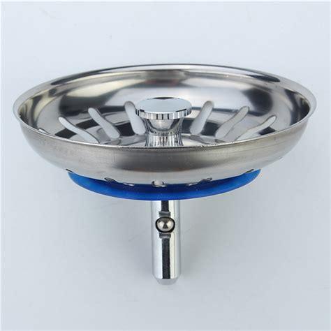 strainer plugs for kitchen sinks 304 stainless steel kitchen sink strainer stopper waste 8390