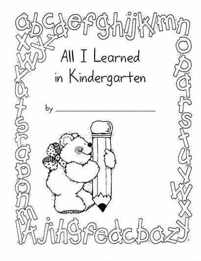 Kindergarten Memory Preschool Template End Portfolio Learned
