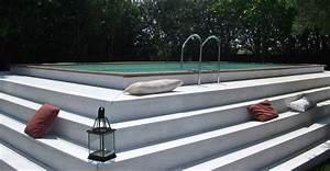 incroyable construction piscine hors sol en beton 13 With construction piscine hors sol en beton
