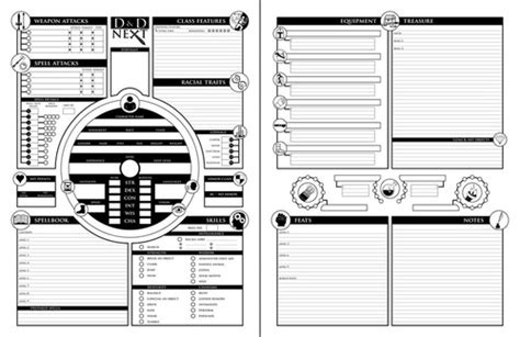 Philosophies On Character Sheets