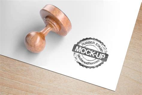 rubber stamp mockup generator mediamodifier