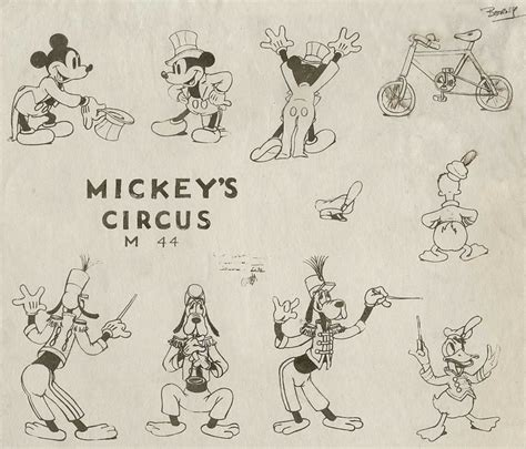 design mice  duck model sheets animationresources