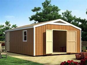 plan 047s 0010 garage plans and garage blue prints from With big barn shed