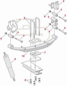 Navistar Front Steer Axle Replacement Suspension Parts