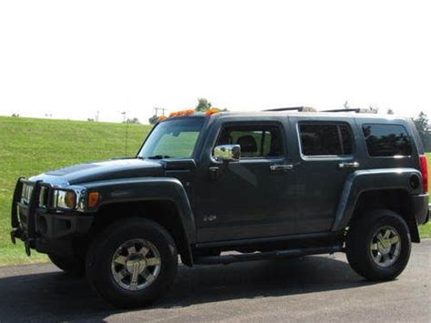 awesome auto hummer sell used 2006 hummer h3 sport utility blue automatic