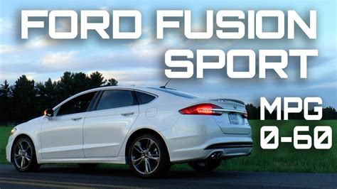 ford fusion sport   mph review highway mpg road