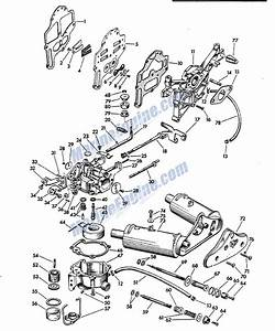 Johnson Carburetor Group Parts For 1957 5 5hp Cd