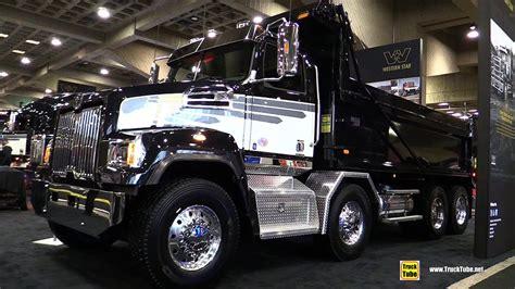 western star  sf dump truck walkaround