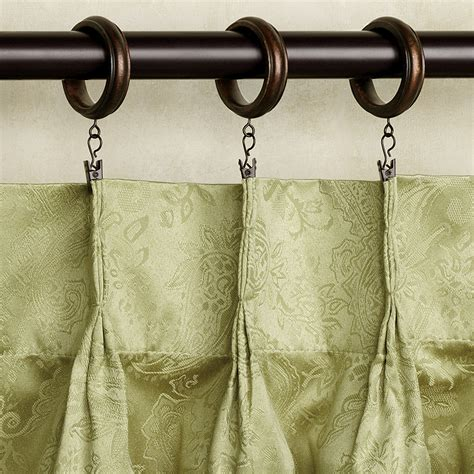 How To Use Drapery Rings by Clip On Curtain Rings Furniture Ideas Deltaangelgroup