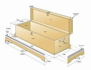 Blanket Box Diagram Furniture I Would Like To Make And