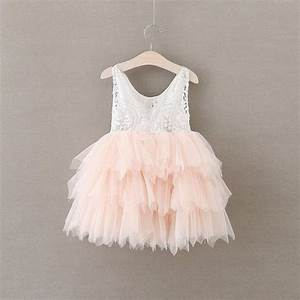 quotthe aliciaquot flower girl dress pink pop sparkle With robe de cérémonie bébé