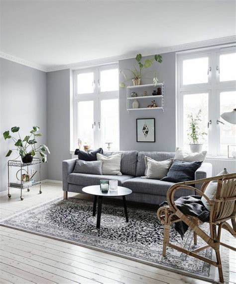 déco canapé deco salon avec canape gris meilleures images d