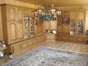 Schrankwand Eiche Rustikal : wohnzimmer schrankwand in ketsch m bel und haushalt kleinanzeigen ~ Markanthonyermac.com Haus und Dekorationen