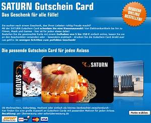 Saturn Gutschein Card Guthaben Abfrage : saturn gutschein 56 gutscheincodes nov 2018 ~ Markanthonyermac.com Haus und Dekorationen