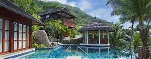 hotel hilton seychelles labriz resort spa seychelles With photo cuisine exterieure jardin 8 hatels aux seychelles