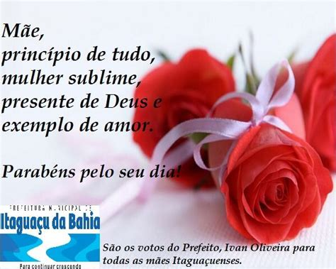 Mensagem Do Prefeito Ivan Oliveira Ao Dia Das MÃes