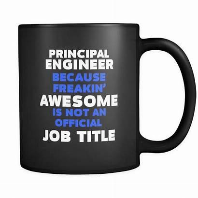 Engineer Principal Funny Gift Mug Idea Oz