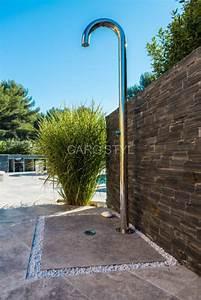 Douche Extérieure Pour Piscine : douche ext rieure pour piscine et jardin caro 39 styl ~ Edinachiropracticcenter.com Idées de Décoration