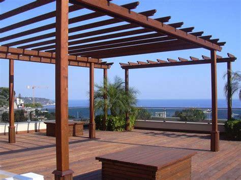 gazebo da terrazzo gazebo in legno foto design mag