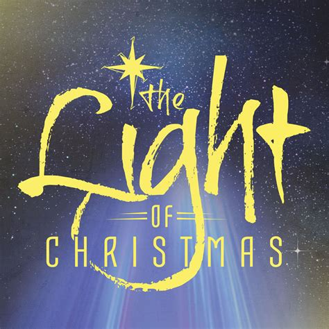 the light of christmas banner church banners outreach