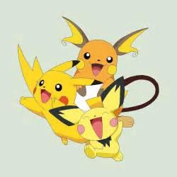 Pokemon Pichu Evolution