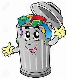 Bin clipart rubbish trashcan - Clipart Collection ...