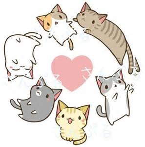 kawaii cat kawaii neko cat zoeken drawings