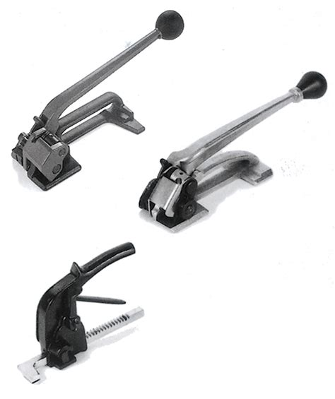 manual steel strapping tools tensioners pac strapping products
