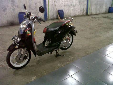 Scoopy Modifikasi by Modifikasi Motor Honda Scoopy Bangbis