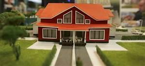 la maison en bois pied au plancher slatefr With maquette d une maison