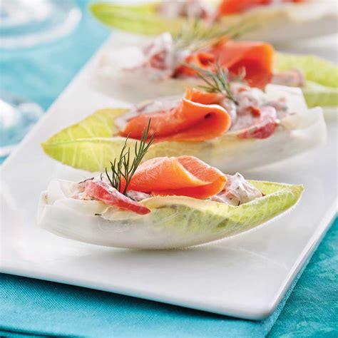 comment cuisiner le saumon frais endives farcies au saumon fumé entrées et soupes recettes 5 15 recettes express 5 15