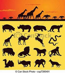 43+ African Animals Clipart