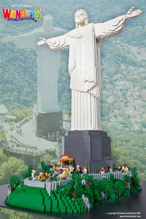 lego christ  redeemer statue  version
