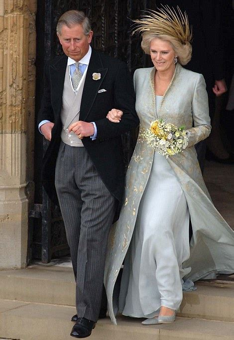 silicon wedding ring duchess of cornwall 39 s gown go on display at