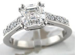 asscher engagement rings asscher cut engagement rings timeless and classic black ring