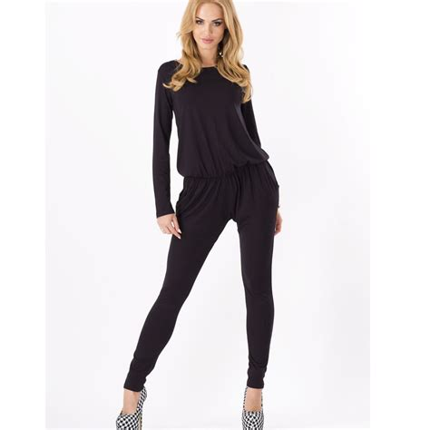 one jumpsuit womens cotton sleeve bodycon trousers one