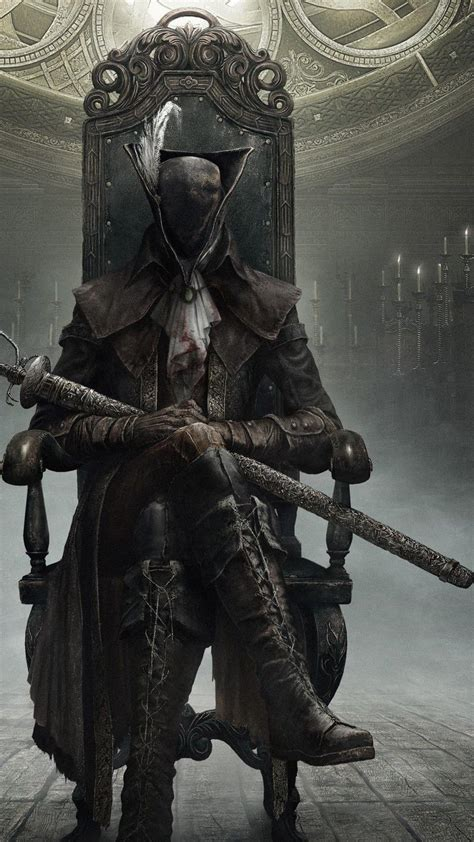Animated killer character, knight, blood, sword, bloodborne, red. Bloodborne Phone Wallpapers - Top Free Bloodborne Phone ...